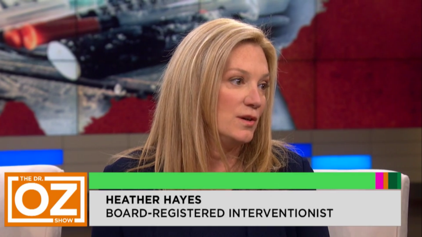 Heather Hayes on Dr Oz Show